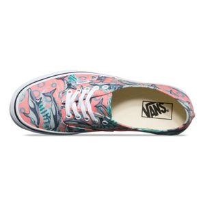 341da9e44c6 Vans Shoes - NWT Vans Authentic Dolphins Desert Flower Low Top